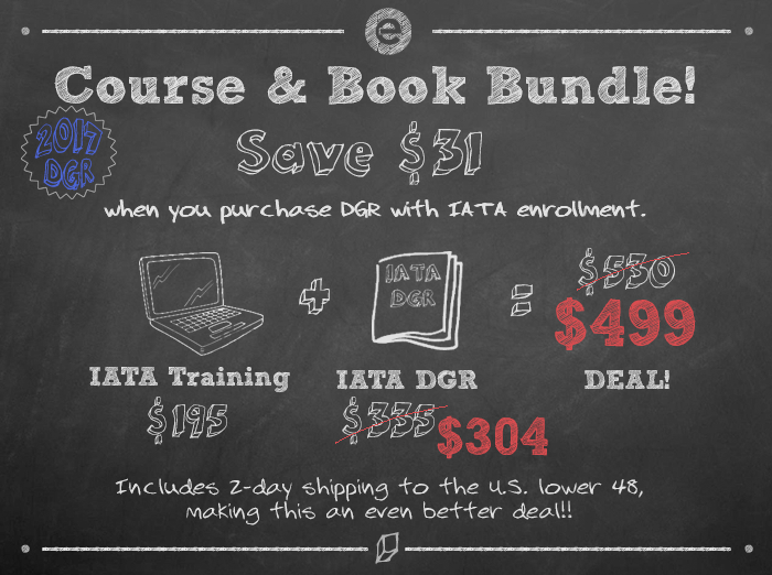 IATA Course and Book Bundle 2017